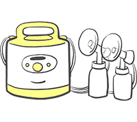メデラ搾乳機レンタル